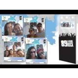 totens fotográficos interativos Vila Sônia